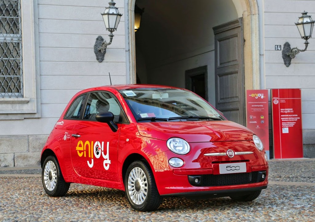 Car Sharing a Linate, Enjoy e Car2go sconfinano nel regno dei Taxi