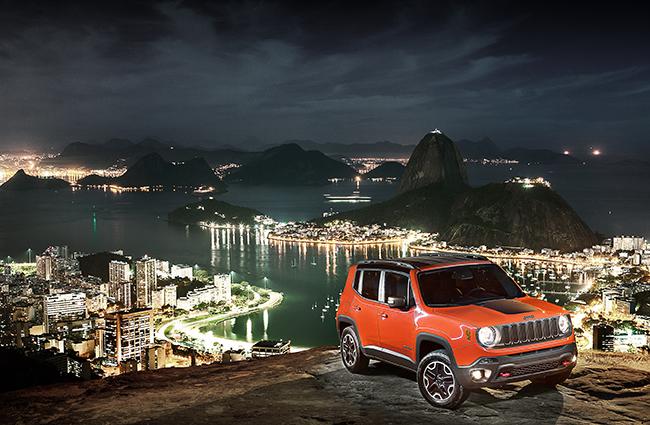 Jeep Renegade e la scommessa brasiliana di Fiat