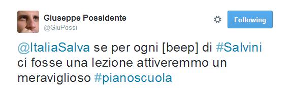 #ascuolaconsalvini