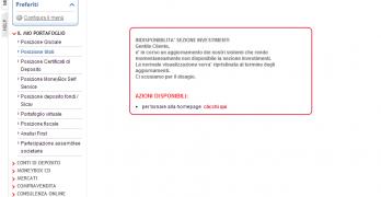Unicredit congela i depositi dei  propri clienti