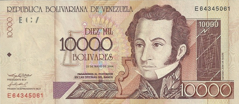 Valuta Venezuelana: le disfunzioni del bolivar
