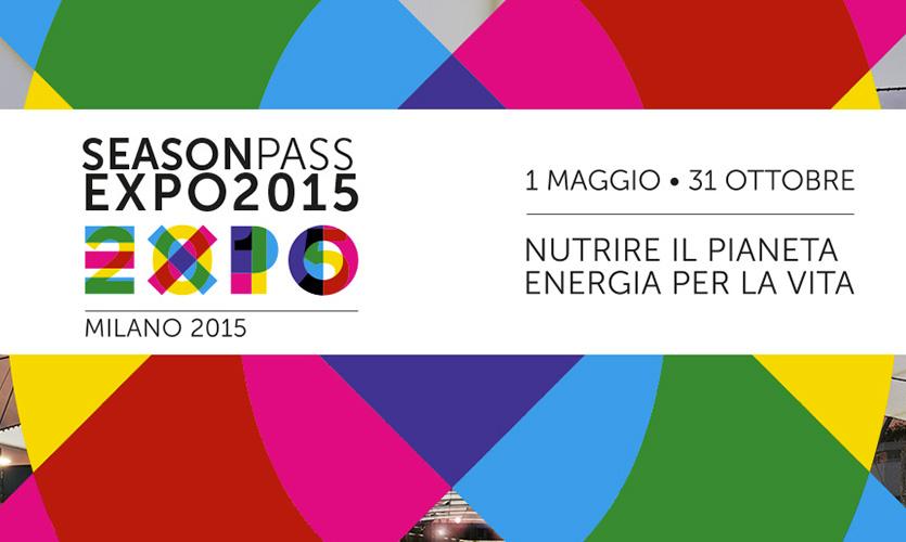 """Season pass Expo 2015 – l'emblema di una """"grande"""" organizzazione…"""