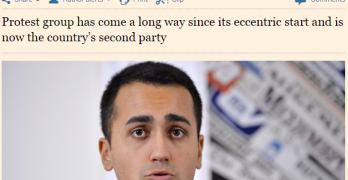 Di Maio e la strana apologia del Financial Times