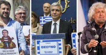 """""""La grecia è stata colonizzata"""", parola di Grillo"""